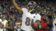 The Ravens won Sunday's game inside the red zone