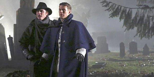 "The Frankenstein brothers on ""Once Upon a Time."""