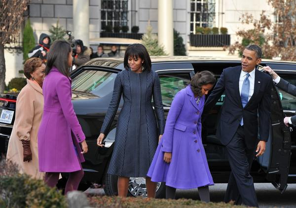 President Obama and the First Family