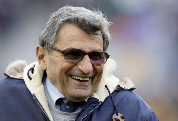 Joe Paterno died one year ago Tuesday.