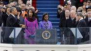 Obama Sworn in to Second Term - 2013