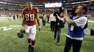 Atlanta Falcons tight end Tony Gonzalez might have played in his final game Sunday. His team lost to the San Francisco 49ers in the NFL championship game, and many are expecting him to call it a career.