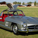 #10: 1955 Mercedes-Benz 300SL Gullwing Coupe