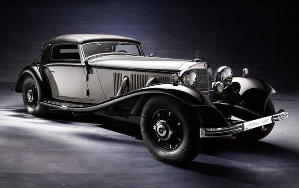 This 1935 Mercedes-Benz 500K Cabriolet A was sold by Gooding & Co. for $2,750,000.
