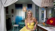 "Katherine LaNasa plays a deliciously hard-edged, evil wife in the new TV series ""Deception,"" but at home in her Venice bungalow, she showcases a soft side influenced by her native New Orleans."