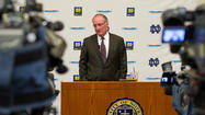 Video: Notre Dame calls that an investigation?