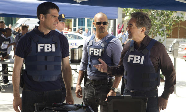 "<i>Airs at 8 p.m. CT Wednesdays on CBS</i> <br> CBS' long-running series has presented many a serial killer, dubbed ""Unsubs,"" or unknown subjects, by the FBI's Behavior Analysis Unit. <br> Pictured, left to right: Thomas Gibson as Hotch, Shemar Moore as Morgan, and Joe Mantegna as Rossi."
