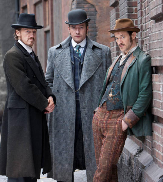"<i>Airs at 8 p.m. CT Saturdays on BBC America</i> <br> The British import isn't about Jack the Ripper's murderous activities, but the terror and hysteria he created looms large in London's East End, where Inspector Edmund Reid (Matthew Macfadyen), Sgt. Bennet Drake (Jerome Flynn) and American surgeon Homer Jackson (Adam Rothenberg) use the developing science of forensics to solve all sorts of grisly crimes. <br> Read <a href=""http://www.redeyechicago.com/entertainment/tv/redeye-ripper-street-tv-review-crime-drama-dressed-in-victorian-style-20130117,0,1493014.story""> my review of ""Ripper Street.""</a>"