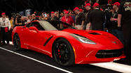 World's first 2014 Corvette sells for $1 million at auction