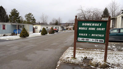 Metzat Properties is suing Somerset Borough over water and sewage usage bills for Somerset Mobile Home Court, located along East Main Street.
