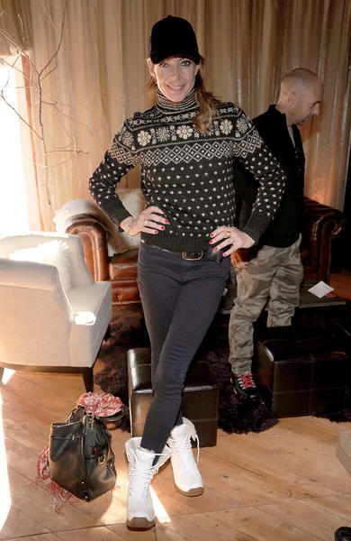 Sundance Film Festival 2013 celebrity sightings: Allison Janney attends Day 3 of the Kari Feinstein Style Lounge at Sundance 2013.