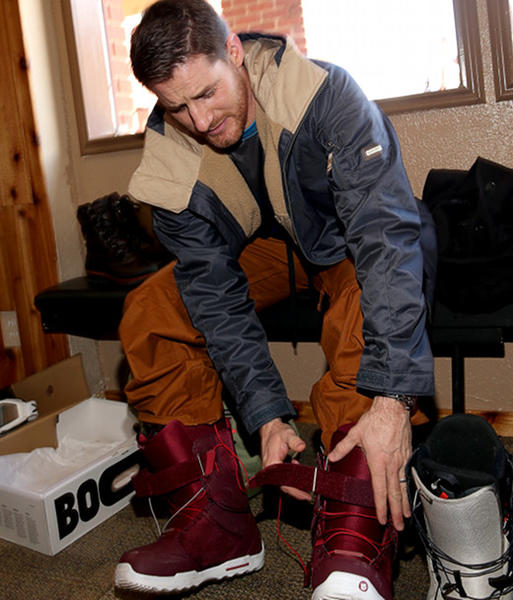 Sundance Film Festival 2013 celebrity sightings: Sam Jaeger attends Burton Learn To Ride at Sundance 2013.