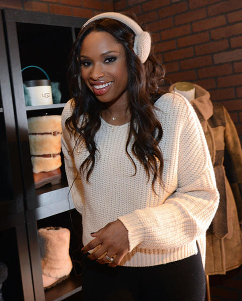 Sundance Film Festival 2013 celebrity sightings: Jennifer Hudson attends Day 1 of UGG at Village At The Lift at Sundance 2013.