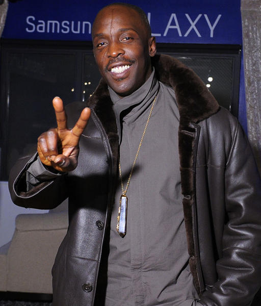 Sundance Film Festival 2013 celebrity sightings: Michael Kenneth Williams attends Day 3 of Samsung Galaxy Lounge at Village At The Lift at Sundance 2013.