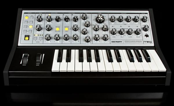The keyboard maker Moog commissioned a track from Flying Lotus to demonstrate its new Sub Phatty model.