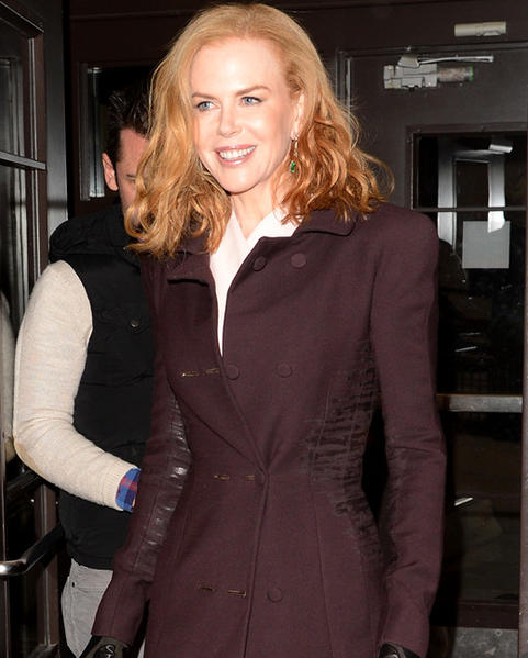 Sundance Film Festival 2013 celebrity sightings: Nicole Kidman attends the Stoker premiere at the Eccles Center Theatre at Sundance 2013.