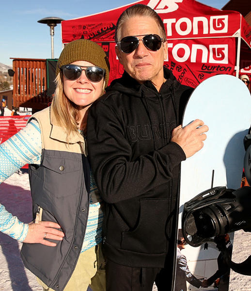Sundance Film Festival 2013 celebrity sightings: Melody Pfeiffer and Tony Danza attend Burton Learn To Ride at Sundance 2013.