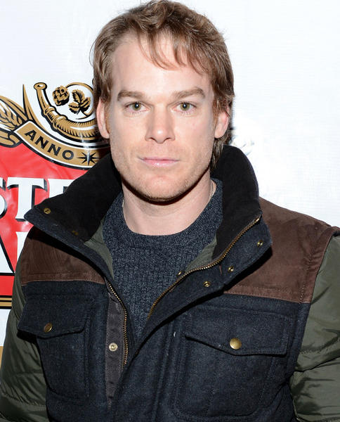 Sundance Film Festival 2013 celebrity sightings: Michael C. Hall attends Stella Artois press dinner for the film Kill Your Darlings at Village at the Lift at Sundance 2013.