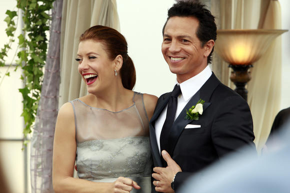 "Kate Walsh and Benjamin Bratt on ""Private Practice"" on ABC."