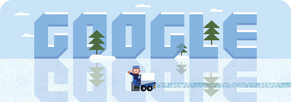 "Google's doodle (<a href=""http://www.google.com/logos/2013/zamboni.html"" target=""_blank"">click here</a> to play it yourself) dedicated to Frank Zamboni was an interactive salute to the inventor of the ice resurfacing machine. It would have been Zamboni's 112th birthday.<br><b>More: </b> <a href=""http://www.latimes.com/business/technology/la-fi-tn-frank-zamboni-google-doodle-20130116,0,2691491.story"" target=""_blank"">Zamboni invented his machine to resurface his family's Southern California ice rink</a>"