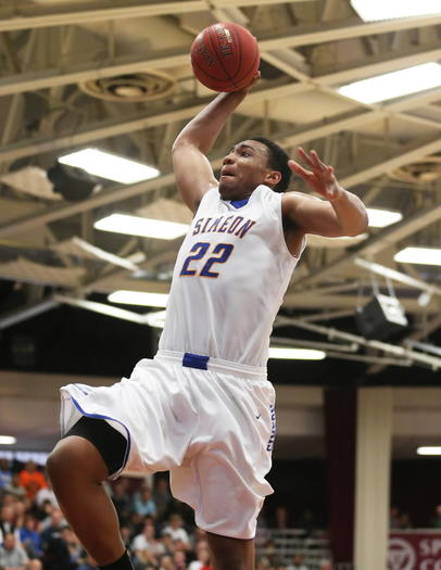 Jabari Parker scores two of his 28 points Monday during a victory against Oak Hill Academy.