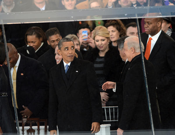 15 weirdest moments of Inauguration Day 2013: Hey Barack, I filled my pants with mashed potatoes to stay warm.