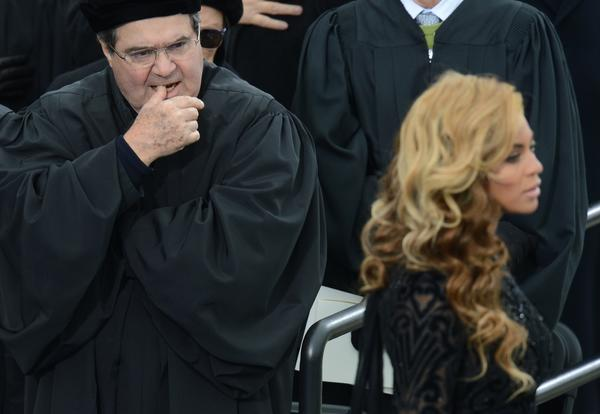 15 weirdest moments of Inauguration Day 2013: Yeah.