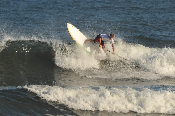 Surfers and stand-up paddle racers will compete March 8-10 in Riviera Nayarit, Mexico.