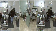A man suspected in a string of salon robberies is believed to have held up a Near North Side salon this morning, police said.