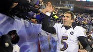 Ravens quarterback <strong>Joe Flacco</strong> quickly came to a realization Sunday night while trailing the New England Patriots at halftime of the AFC championship game. It was a realization shared by coach <strong>John Harbaugh</strong>.