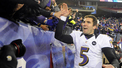 Joe Flacco advocated for Ravens' aggressive second-half attack