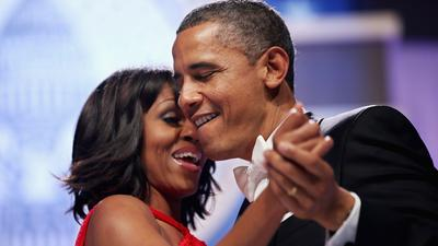 Inauguration 2013: The Obamas at the inaugural balls