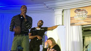 PHOTOS: LeBron James and Dwyane Wade karaoke for charity