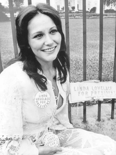 """At press time, Franco was in discussions to play the porno man who captured Linda Lovelace (pictured) on camera, reuniting him with """"Howl"""" directors Rob Epstein and Jeffrey Friedman."""