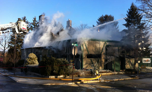 Youell's Oyster House restaurant in Allentown was destroyed in an early morning fire on January 22nd.
