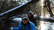 Pictures: Travel to northern Michigan for winter fly fishing