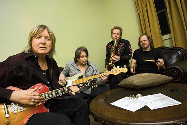 Kim Simmonds, left, and Savoy Brown, perform Sunday at the Iron Horse in Northampton.