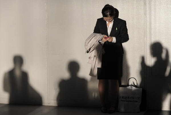 A job fair in Japan. Global unemployment keeps rising and is expected to exceed a record set in 2009.