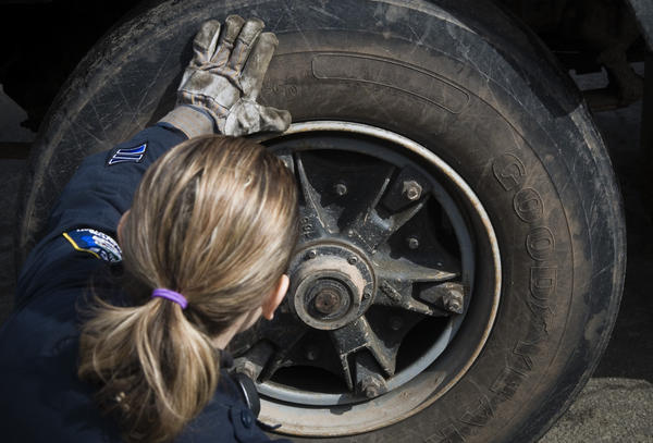 Frigid weather can often decrease tire pressure. To combat this, drivers should regularly inspect their tires and maintain the manufacturer's recommended tire pressure found on the driver's door jamb. AAA also advises that drivers never decrease tire pressure in order to augment traction on icy roads.