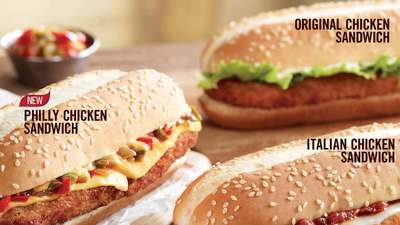 BOGO chicken sandwiches at Burger King