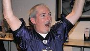 Superstitious fans in Catonsville, Arbutus do their part for the Ravens