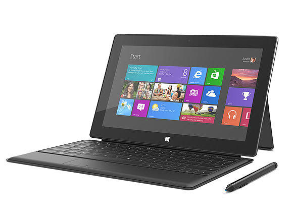The Microsoft Surface Pro, which starts at $899 and comes with a type cover and a stylus, will go on sale Feb. 9.
