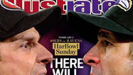 To no one's surprise, the Ravens figure prominently in the upcoming covers for Sports Illustrated's Super Bowl editions.
