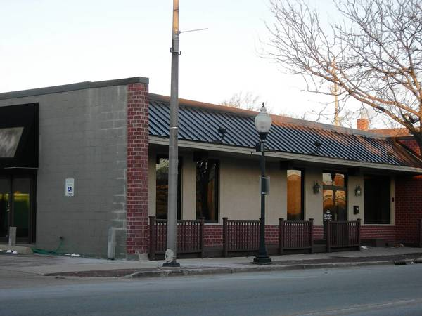 A new restaurant and bar that will open in April will be exempt from installing a fire sprinkler system.