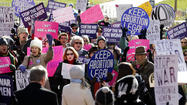 Forty years after the Supreme Court's Roe vs. Wade decision struck down laws forbidding abortions, support for a legal right to end a pregnancy has grown, according to new polls released this week.