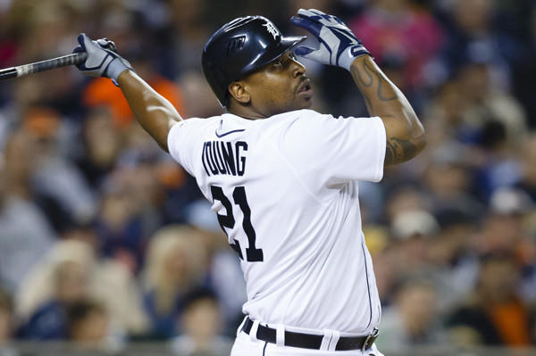 The former Tigers outfielder has agreed to a one-year deal with the Philadelphia Phillies with a base salary of $750,000 plus a number of performance bonuses.