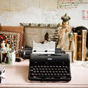 PIerce and Harlan: Vintage typewriter
