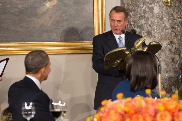 House Speaker John A. Boehner and President Obama may be on the verge of a temporary debt ceiling deal.