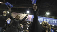 JERUSALEM -- With one of the highest voter turnouts since 1999, Israelis once again threw their support behind the nation's conservative and religious political parties, probably ensuring the reelection of Prime Minister Benjamin Netanyahu, according to exit polls Tuesday night by Israeli television channels.