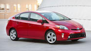Toyota's Prius has toppled the Honda Civic from its two-year reign as the bestselling vehicle in California.